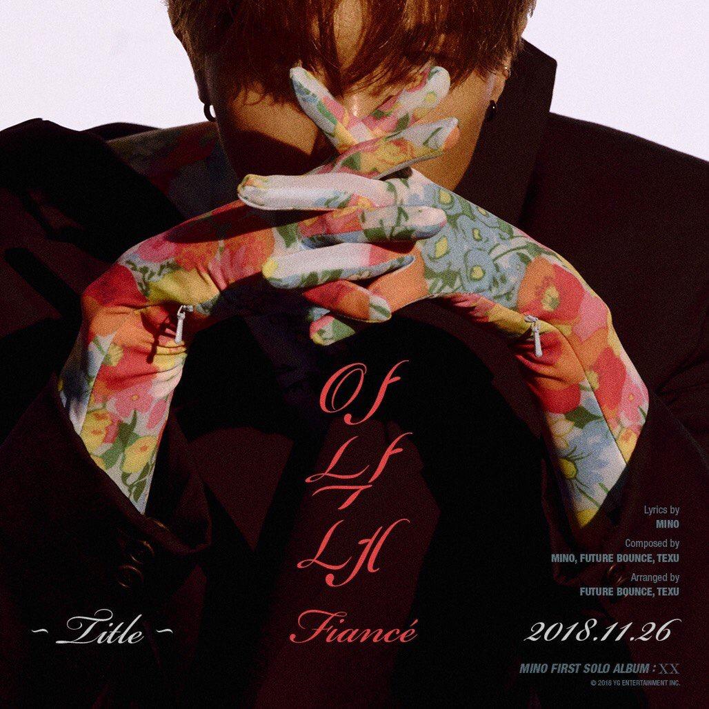 Mino YG Entertaiment, primer solo álbum, 16 de noviembre