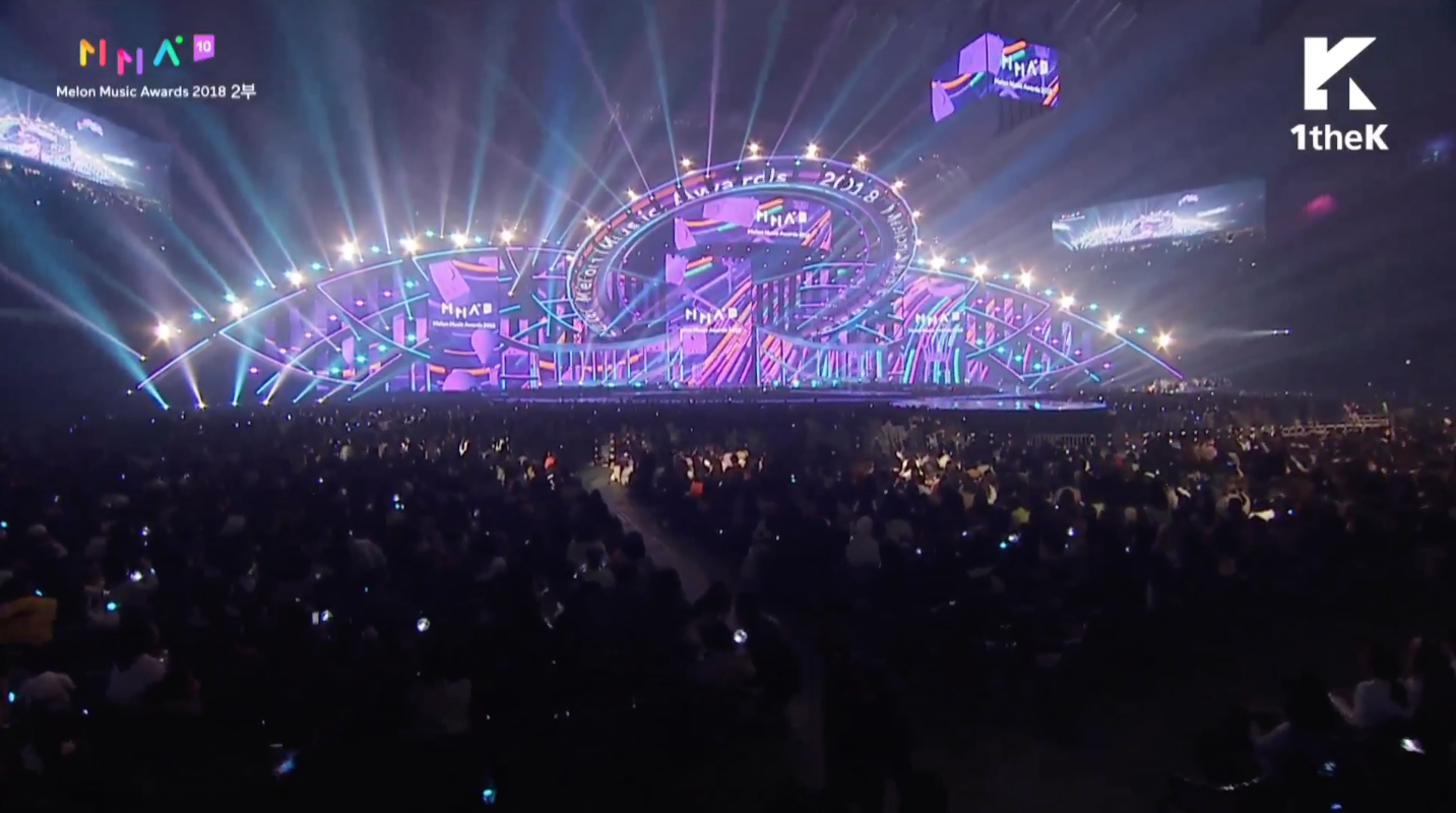 Melon Music Awards (MMA) 2018 Escenario