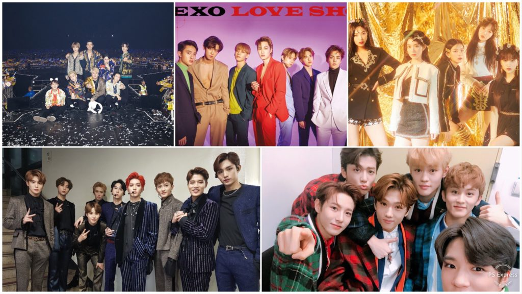 SMTown Special Stage Chile 2019 Grupos