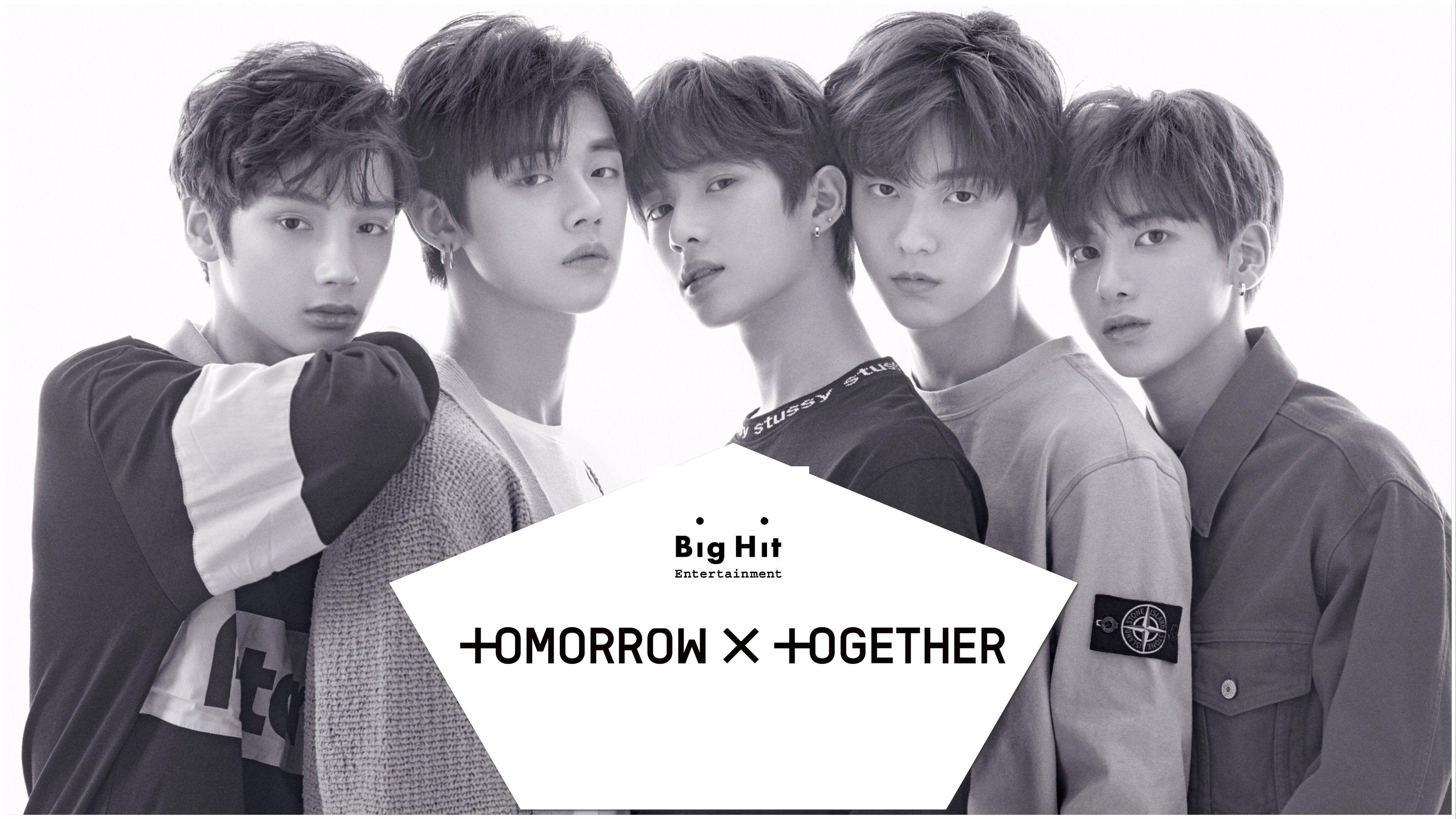 TXT BigHit, grupo completo, HueningKai, SooBin, BeomGyu, TaeHyun y YeonJun