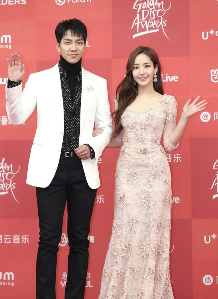 Golden Disc Awards 2019 | MC Lee Sung Gi y Park Min Young
