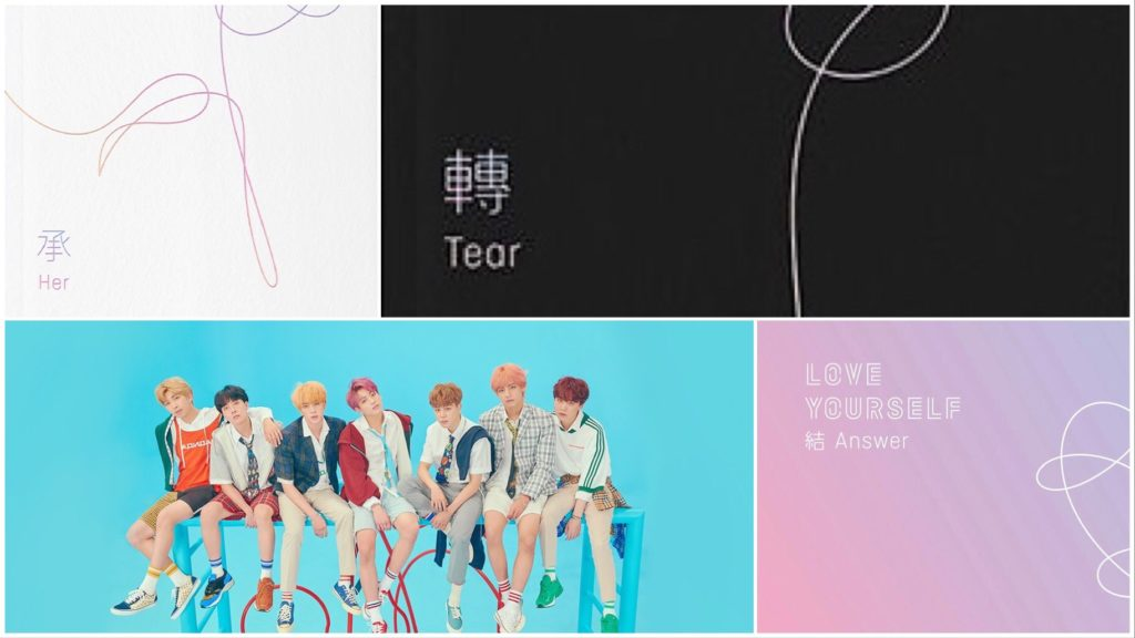 BTS Albums en Billboard World Charts