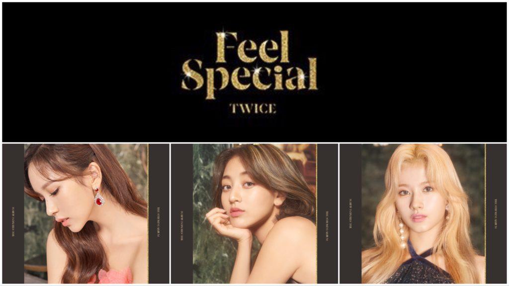"Twice ""Feel Special"" Mina (미나); JiHyo (지효); Sana (사나)"