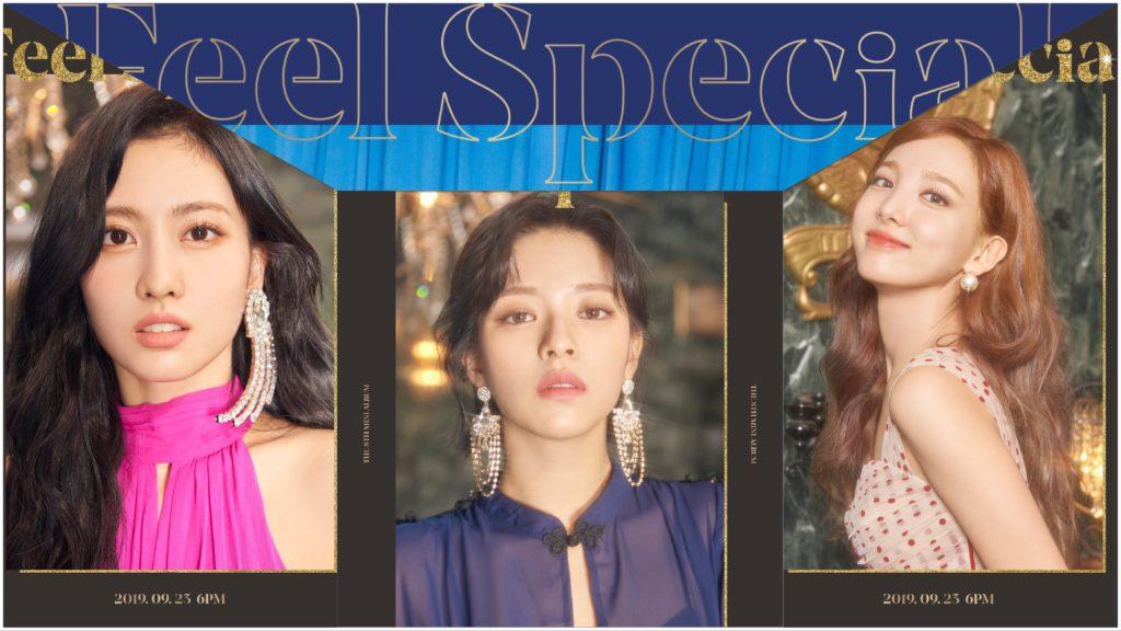 "Twice ""Feel Special"" Momo (모모); YeongYeon (정연); NaYeon (나연)"