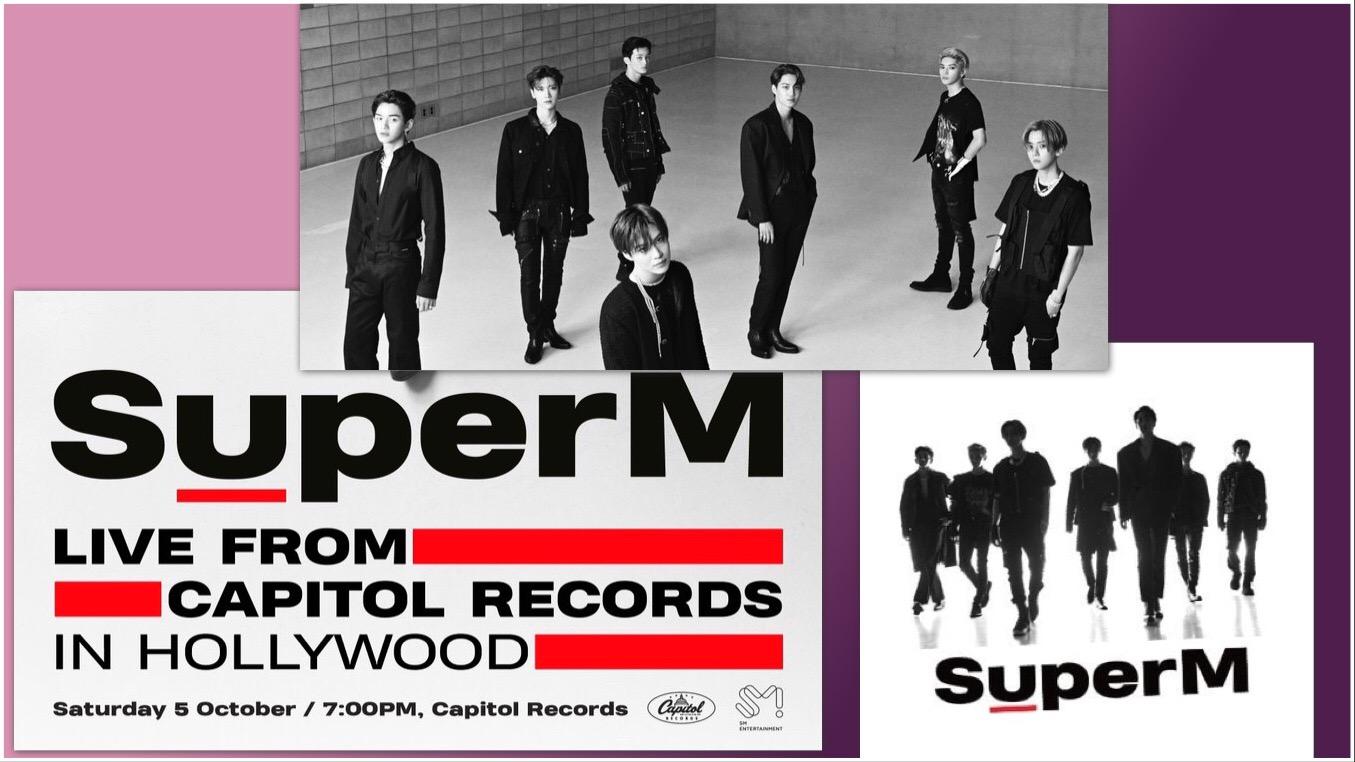 SuperM en vivo desde Capitol Records