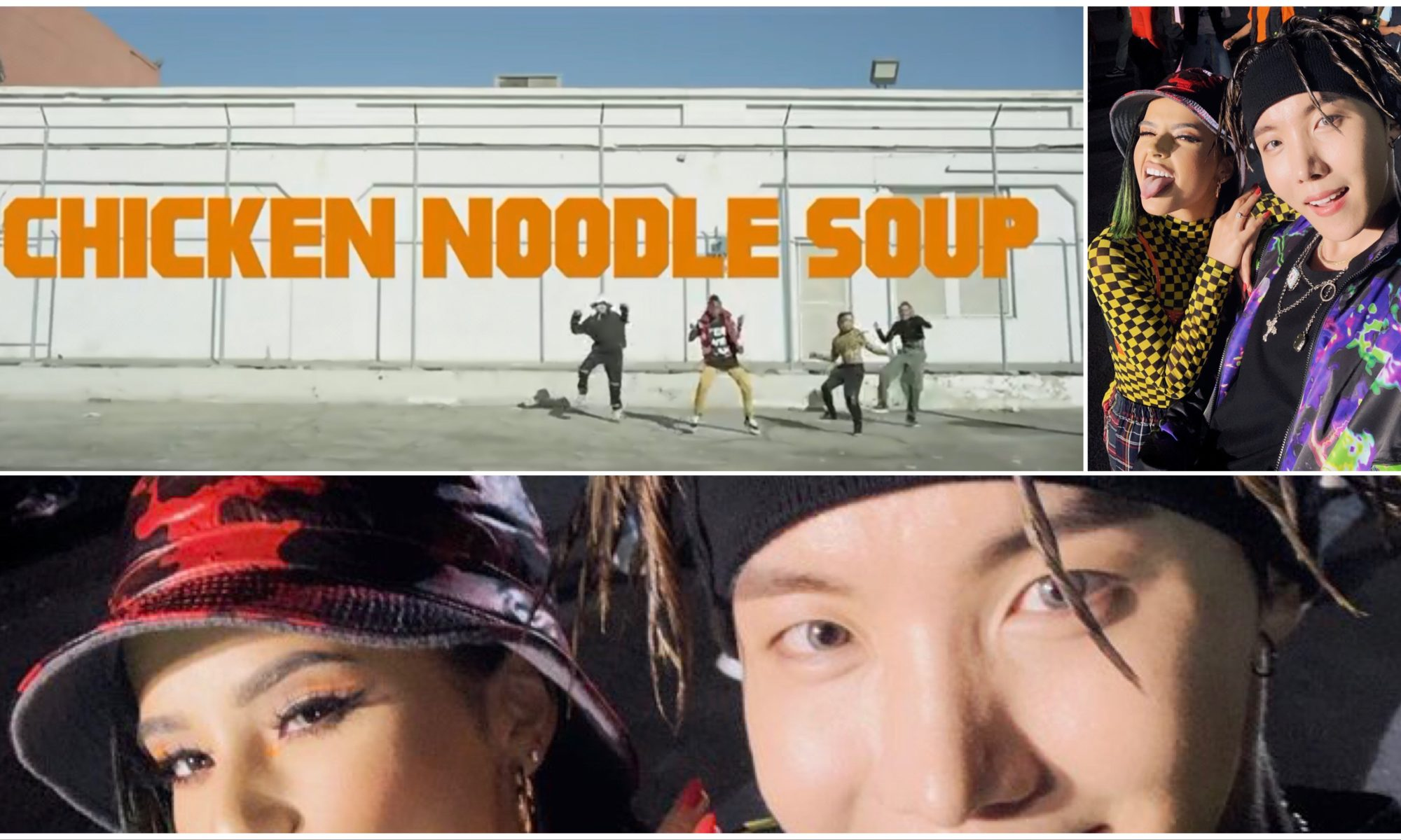 BTS J-Hope Becky G, CHICKEN Noodle Soup