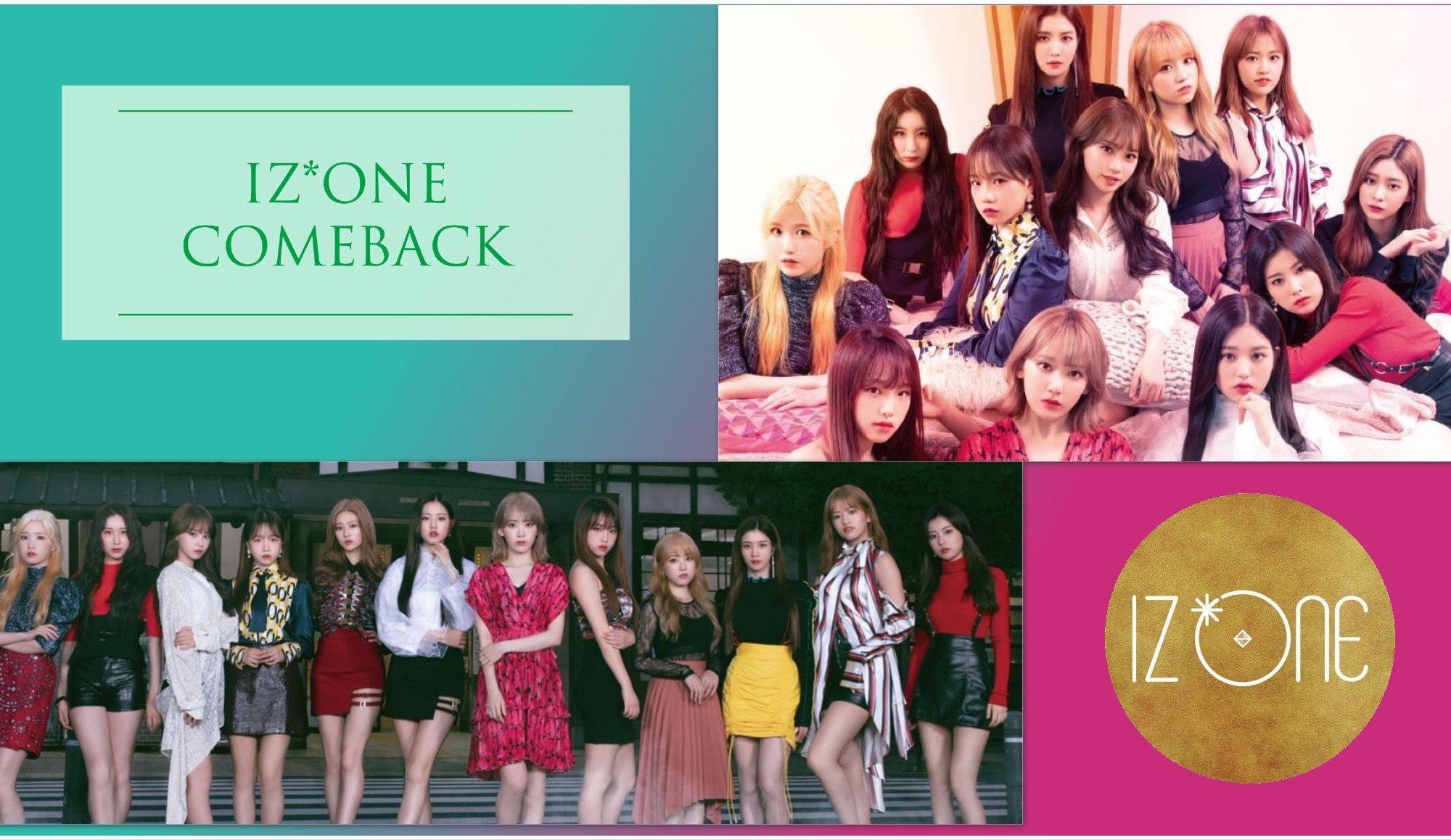 IZ*ONE Comeback