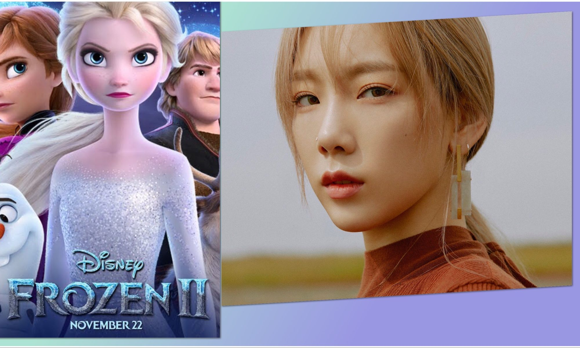 Girls' Generation Taeyeon cantará el OST de Frozen 2
