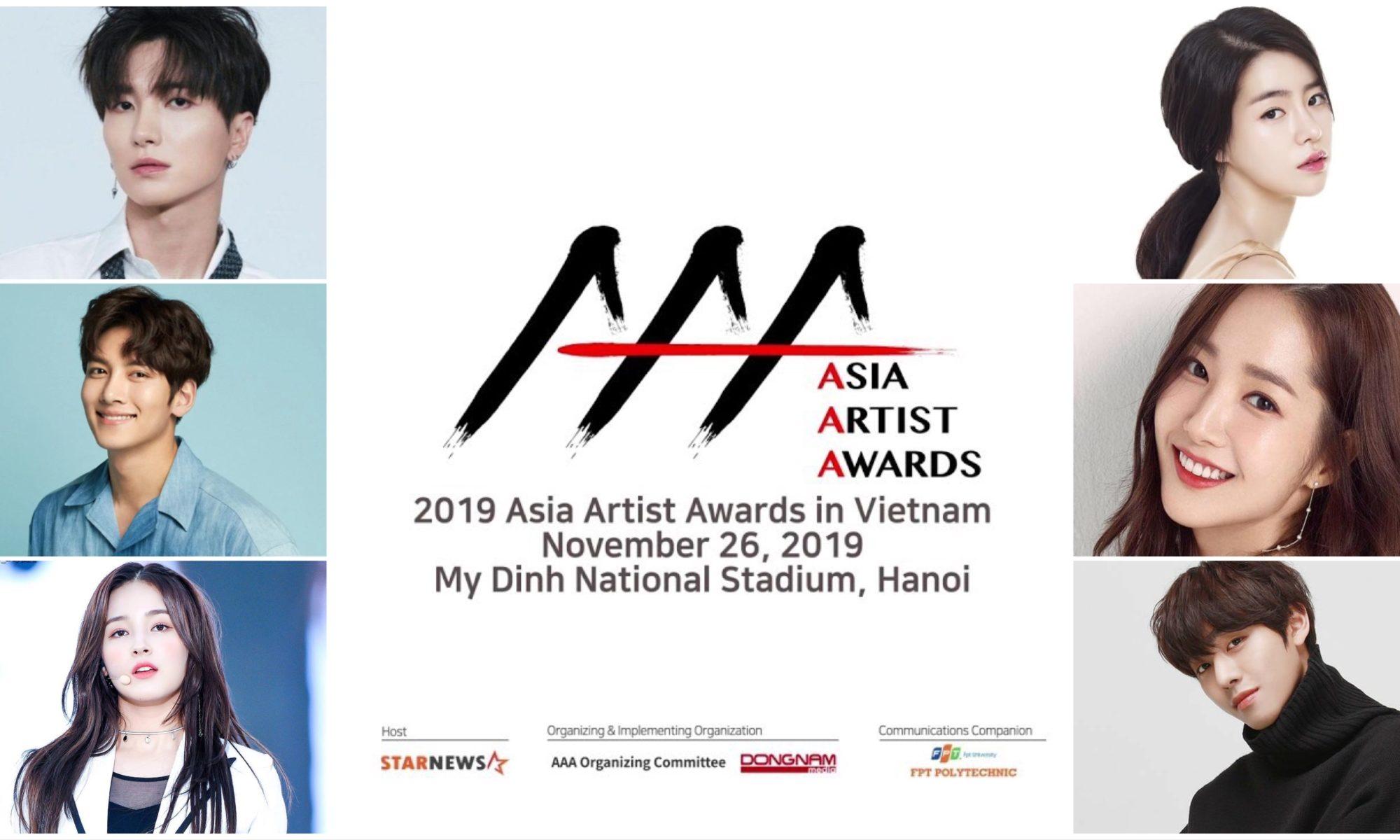 Asia Artist Awards AAA 2019