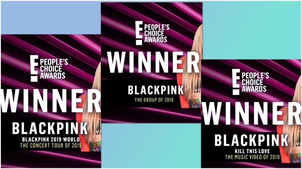 Blackpink E! Choice Awards 2019