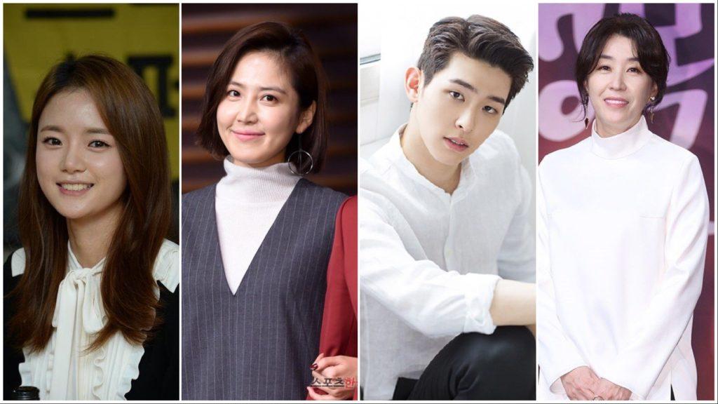 Go Bo Gyol (고보결), segunda esposa de Jo Kang Hwa; Shin Dong Mi (신동미), mejor amiga de Cha Yoo Ri y esposa de Gye Geun Sang; Lee Si Woo (이시우), Piloto con look perfecto e inteligencia sexy; Kim Mi Kyung (김미경), madre de Cha Yoo Ri.