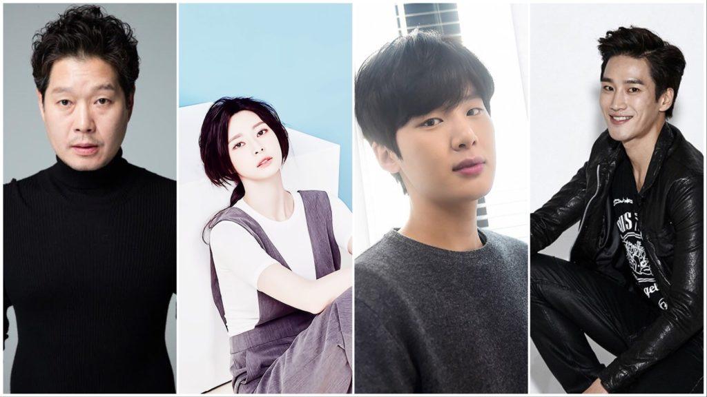 Yoo Jae Myung (유재명) como Jang Dae Hee (장대희), Kwon Nara (권나라) como Oh Soo Ah (오수아), Kim Dong Hee (김동희) como Jang Geun Soo (장근수) y Ahn Bo Hyun (안보현) como Jang Geun Won (장근원)